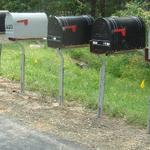 Our wood mounting plate allows for mailboxes of all sizes and designs to be easily attached to the support.