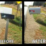 Old beaten up mailbox and support?  You owe it to yourself to install our commercial grade SwingSAFE Swing-Away Support.
